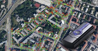 Zeitungs- und Werbemittelverteilung mit GPS-Sender