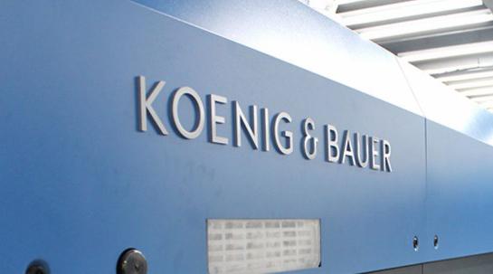 Koenig & Bauer:  Fast 15 % Auftragsminus im Coronajahr 2020